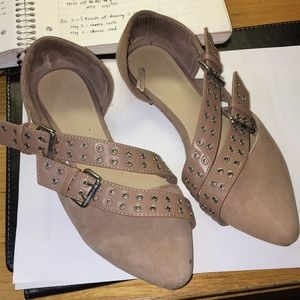 GAP Moro d'Orsay Flats in Suede
